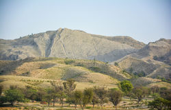 Naushera dry mountains - Khushab Stock Photography