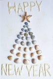 Nautic-Glückwunsch zum neuen Jahr Stockbilder