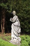 statue in a garden Royalty Free Stock Image