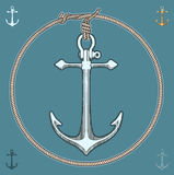 Nautical Anchor Royalty Free Stock Photography