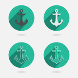 Nautical Anchor vector Royalty Free Stock Images