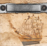 Nautical ancient background Stock Photography