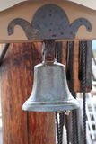 Nautical Bell. Bell from a tall ship royalty free stock image