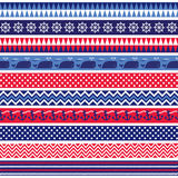 Nautical Borders Stock Images