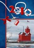 Nautical Christmas Royalty Free Stock Photography