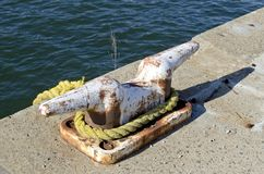 Nautical Cleat Stock Image