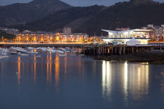 Nautical club in Castro Urdiales Royalty Free Stock Photography