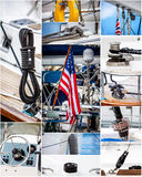 Nautical collage Royalty Free Stock Image