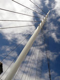 Nautical Design. Of modern overpass in urban environment royalty free stock images