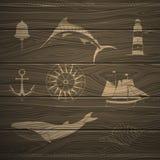 Nautical Design Elements Stock Photo