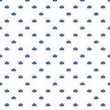 Nautical elements patchwork pattern Royalty Free Stock Photo