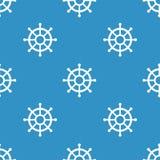 Nautical elements patchwork pattern Stock Photos
