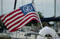 Nautical Flag Stock Photo