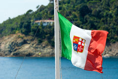 Nautical Flag of Italy Stock Images