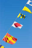 Nautical flags Royalty Free Stock Images
