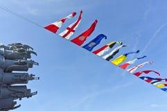 Nautical flags Royalty Free Stock Photos