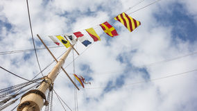 Nautical Flags Stock Images
