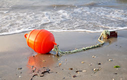 Nautical flash tube on the beach Stock Images