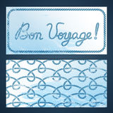 Nautical flyers - Bon Voyage Stock Photos