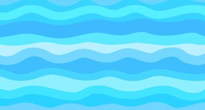 Illustration. Art creation. Nautical geometric wallpaper of the surface. Cute sea background. Bright colors. Pattern with lines and waves. Multicolored texture stock illustration
