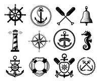 Nautical icon Stock Photography