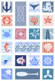 Nautical Icons Illustrations Stock Photos