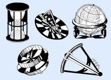 Nautical instruments Stock Photo