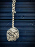 Nautical knot Royalty Free Stock Images