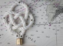 Nautical knots Royalty Free Stock Photo