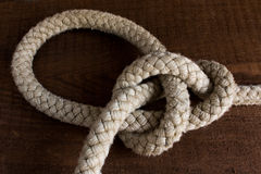 Nautical knots Stock Images