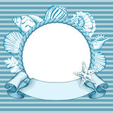 Nautical labels Royalty Free Stock Photos
