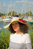 Nautical lady Stock Photography