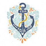 Nautical Lettering Stock Photos