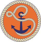 Nautical logo Stock Photos