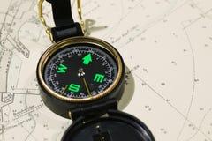 Nautical Map Royalty Free Stock Image