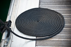 Nautical mooring rope Royalty Free Stock Photos