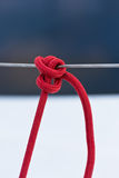 Nautical mooring rope Stock Photography