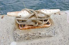 Nautical Mooring Stock Photo