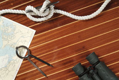 Nautical objects stock photos