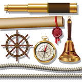 Nautical objects Stock Photography