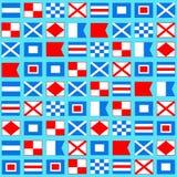 Nautical pattern Royalty Free Stock Photography