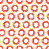 Nautical pattern Stock Image