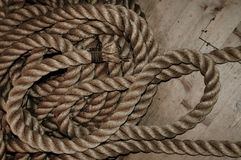 Nautical rope Stock Photography