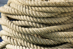 Nautical Rope Royalty Free Stock Photos
