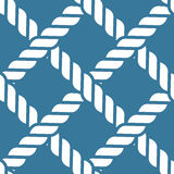 Nautical rope pattern Royalty Free Stock Image
