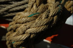 nautical ropes royaltyfri bild