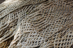 Nautical ropes as background image Royalty Free Stock Image