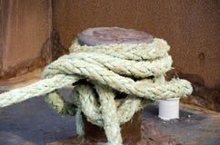 Nautical Ropes Stock Photo
