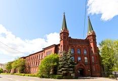 Nautical School (former St George Hospital, 1897), Kaliningrad, Royalty Free Stock Photography