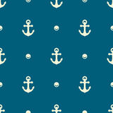 Nautical seamless pattern Royalty Free Stock Photo